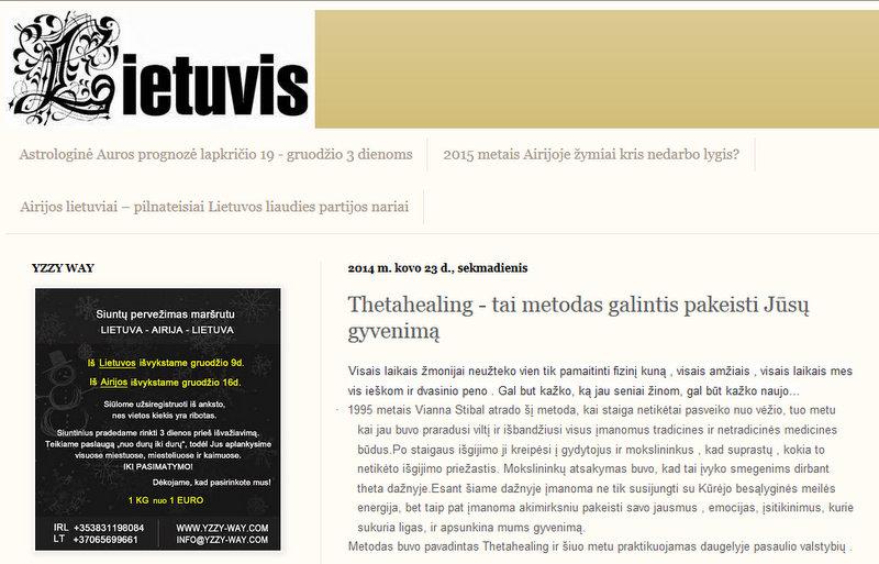 Laikrastis Lietuvis Thetahealing - tai metodas galintis pakeisti Jūsų gyvenimą - Mozilla Firefox 14.12.2014 171729